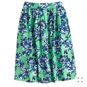J. Crew Patio Skirt in Photo Floral